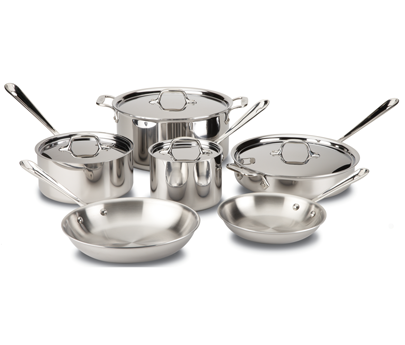 Stainless 10-Piece Set